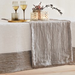 Table runner - Athenas Argent